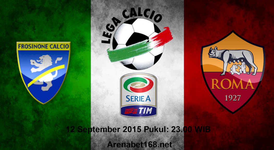 Prediksi Skor Frosinone VS Roma 12 September 2015
