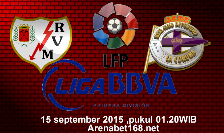 Prediksi Skor La Rayo Vallecano VS D. La Coruna 15 September 2015