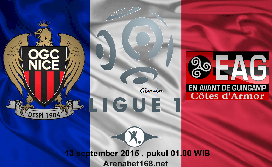 Prediksi Skor Nice VS Guingamp 13 September 2015