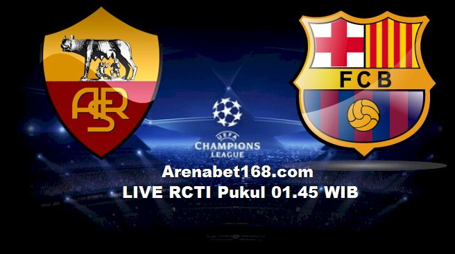 Prediksi Skor UEFA Champions League AS Roma vs Barcelona 17 September