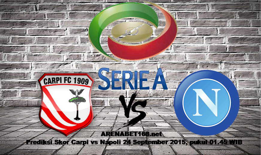 Prediksi Skor Carpi vs Napoli 24 September 2015