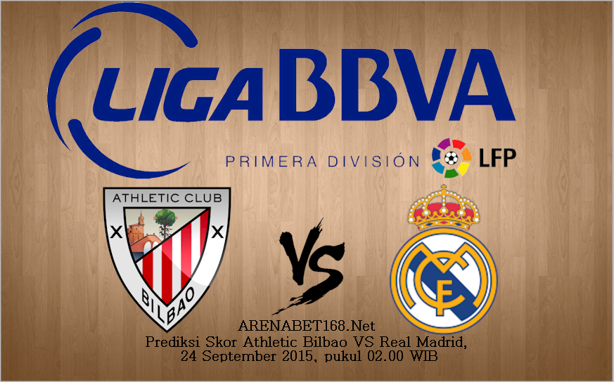 Prediksi Skor Athletic Bilbao VS Real Madrid 24 September 2015