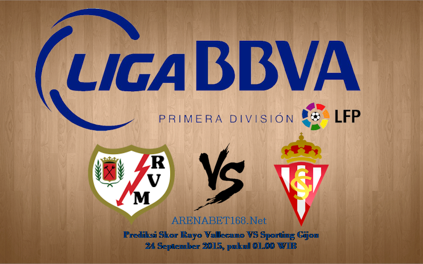 Prediksi Skor Rayo Vallecano VS Sporting Gijon 24 September 2015