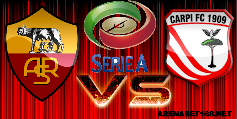 Prediksi Skor AS Roma vs Carpi 26 September 2015