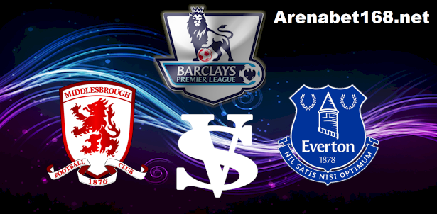 Prediksi Sbobet Middlesbrough VS Everton 02 Desember 2015