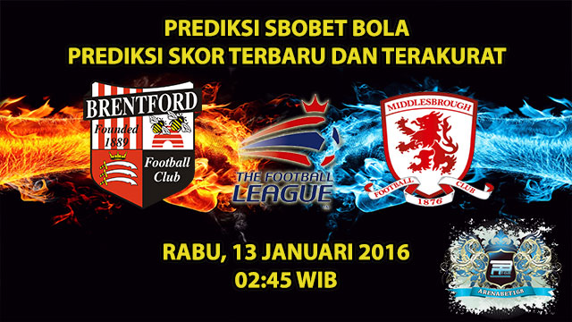 prediksi-skor-brentford-vs-middlesbrough-13-januari-2016
