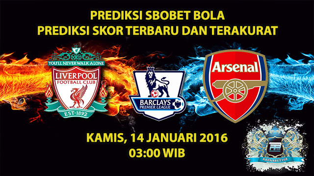 prediksi-skor-liverpool-vs-arsenal-14-januari-2016