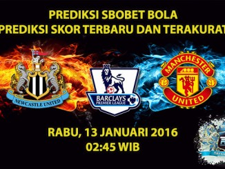 prediksi-skor-newcastle-vs-manchester-united-13-januari-2016