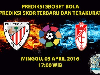 Prediksi Skor Athletic Bilbao VS Granada 03 April 2016