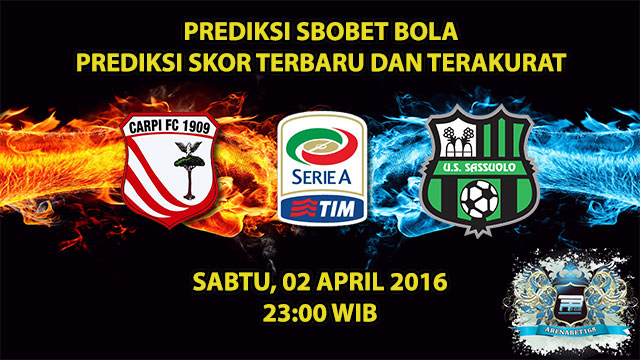 Prediksi Skor Carpi VS Sassuolo 02 April 2016