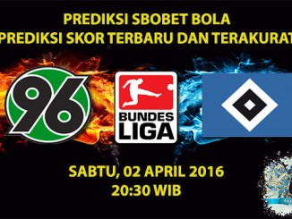 Prediksi Skor Hannover VS Hamburg 02 April 2016