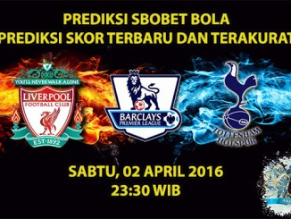 Prediksi Skor Liverpool VS Tottenham 02 April 2016