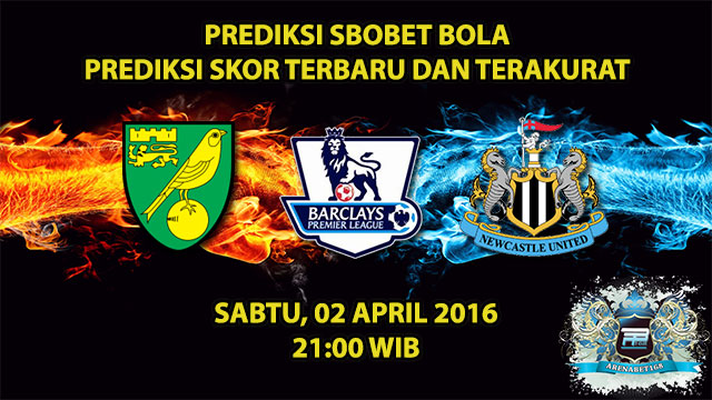 Prediksi Skor Norwich VS Newcastle 02 April 2016