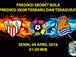 Prediksi Skor Sevilla VS Real Sociedad 04 April 2016
