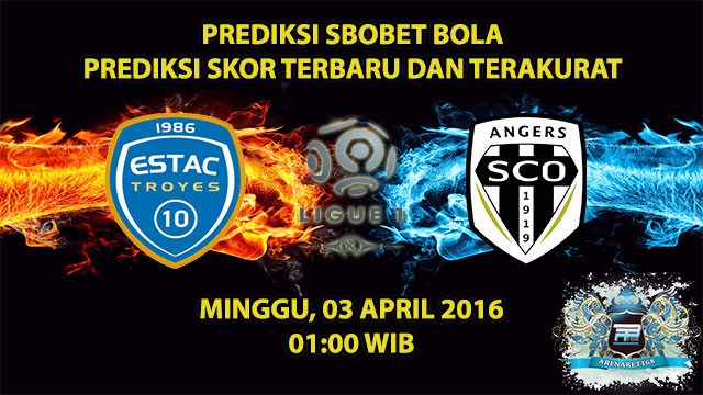 Prediksi Skor Troyes VS Angers 03 April 2016