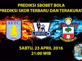 Prediksi Skor Aston Villa VS Southampton 23 April 2016