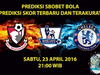 Prediksi Skor Bournemouth VS Chelsea 23 April 2016