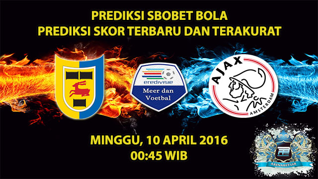 Prediksi Skor Cambuur VS Ajax 10 April 2016