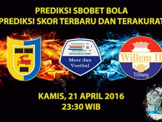 Prediksi Skor Cambuur VS Willem II 21 April 2016