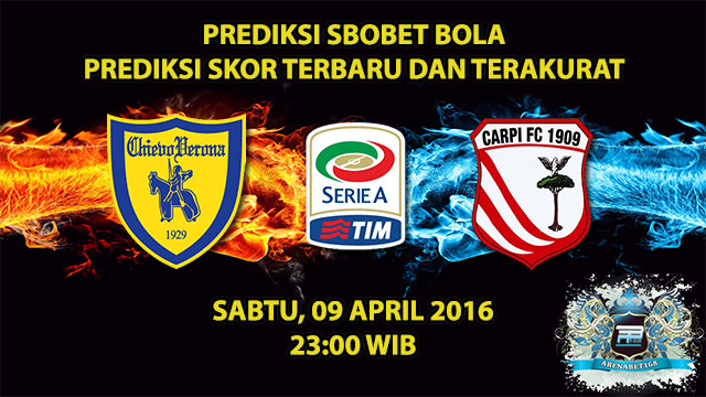 Prediksi Skor Chievo VS Carpi 09 April 2016