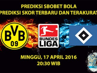 Prediksi Skor Dortmund VS Hamburg 17 April 2016