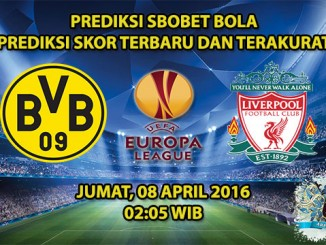 Prediski Skor Dortmund VS Liverpool 08 April 2016