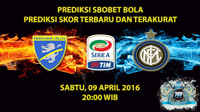 Prediksi Skor Frosinone VS Inter Milan 09 April 2016