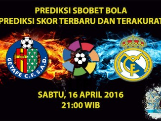 Prediksi Skor Getafe VS Real Madrid 16 April 2016