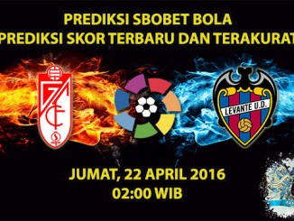 Prediksi Skor Granada VS Levante 22 April 2016