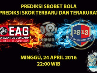 Prediksi Skor Guingamp VS Caen 24 April 2016