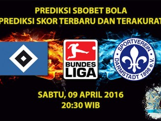 Prediksi Skor Hamburg VS Darmstadt 09 April 2016