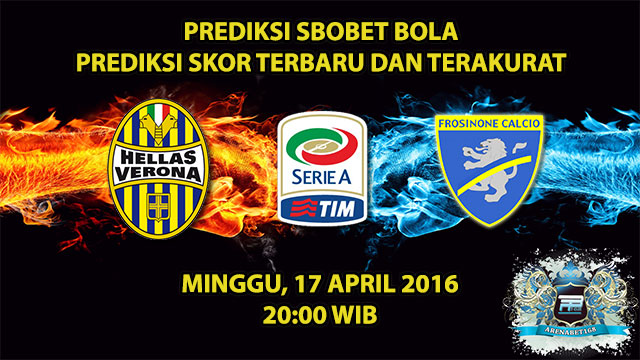 Prediksi Skor Hellas Verona VS Frosinone 17 April 2016