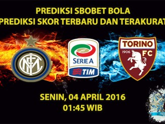 Prediksi Skor Inter Milan VS Torino 04 April 2016