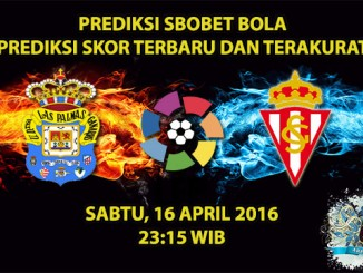 Prediksi Skor Las Palmas VS Sporting Gijon 16 April 2016