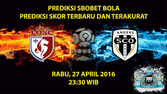 Prediksi Skor Lille VS Angers 27 April 2016