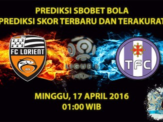 Prediksi Skor Lorient VS Toulouse 17 April 2016