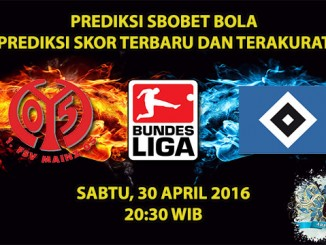 Prediksi Skor Mainz VS Hamburg 30 April 2016