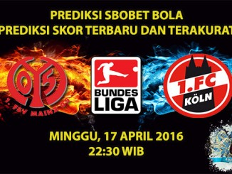 Prediksi Skor Mainz VS Koln 17 April 2016