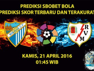 Prediksi Skor Malaga VS Rayo Vallecano 21 April 2016