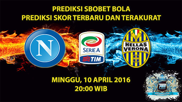 Prediksi Skor Napoli VS Hellas Verona 10 April 2016