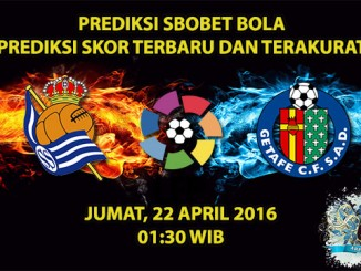 Prediksi Skor Real Sociedad VS Getafe 22 April 2016