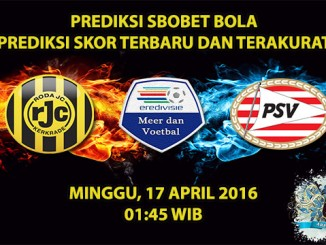 Prediksi Skor Roda JC VS PSV 17 April 2016