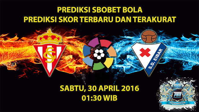 Prediksi Skor Sporting Gijon VS Eibar 30 April 2016
