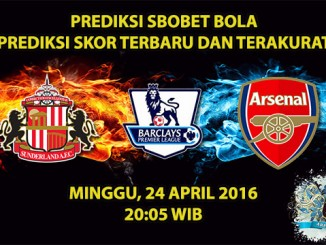 Prediksi Skor Sunderland VS Arsenal 24 April 2016