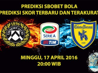 Prediksi Skor Udinese VS Chievo 17 April 2016