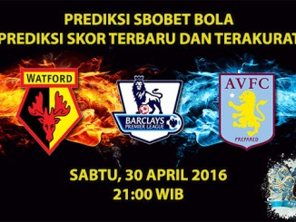 Prediksi Skor Watford VS Aston Villa 30 April 2016