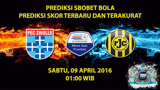 Prediksi Skor Zwolle VS Roda JC 09 April 2016