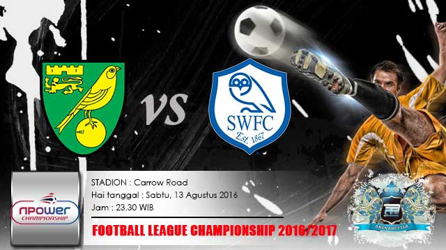 Norwich VS Sheffield Wednesday