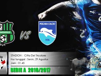 Sassuolo vs Pescaraa