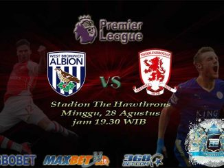 West Brom vs Middlesbroughh